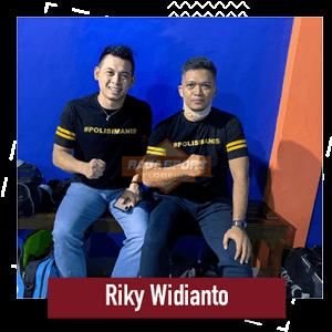 raga sport flooring bersama Riky widianto