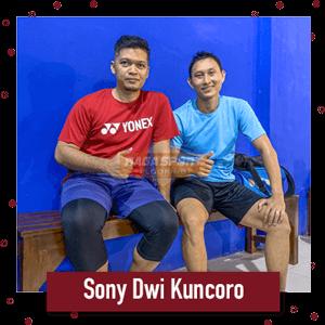 raga sport flooring bersama Sony dwi kuncoro