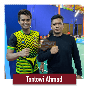 raga sport flooring bersama tantowi ahmad