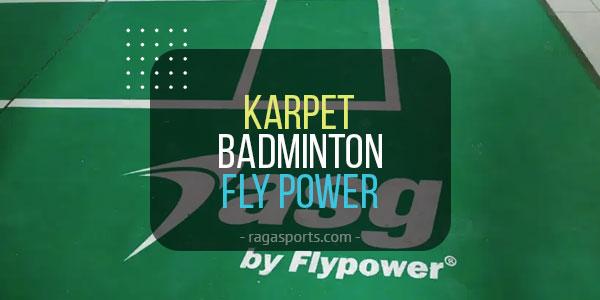 karpet badminton fly power