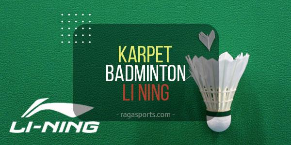 karpet badminton li ning
