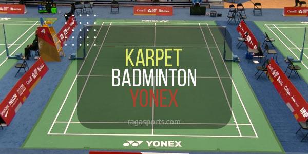 karpet badminton yonex